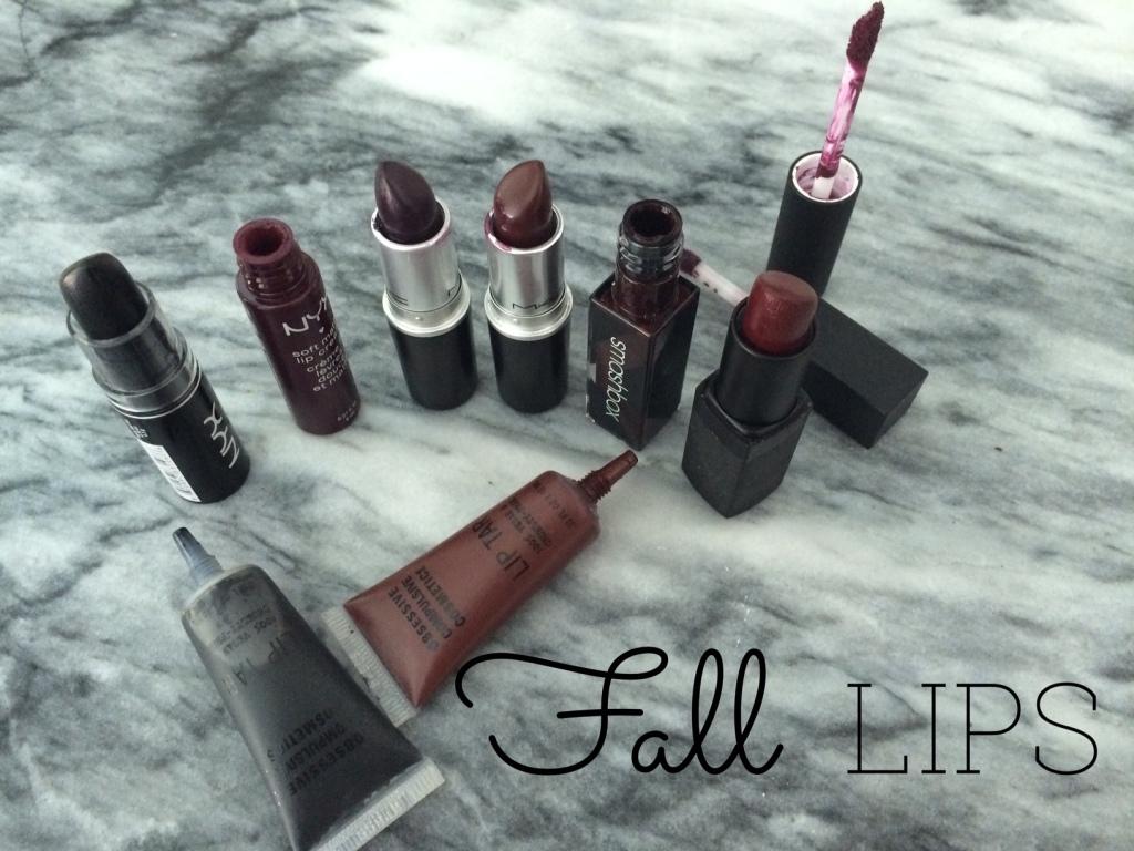 Fall Lips // Black Cherry