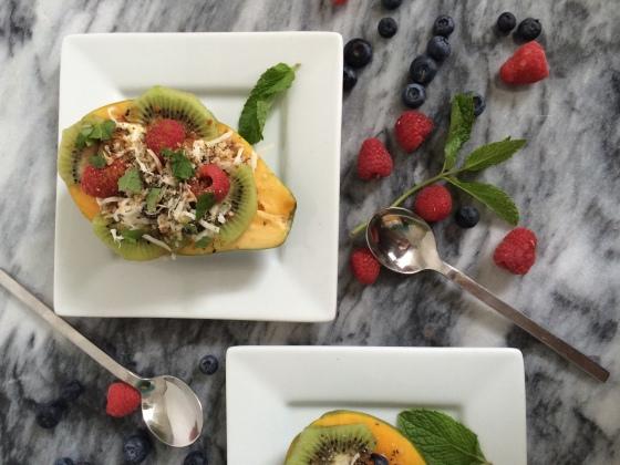 Sunday Sweets // Papaya Parfaits